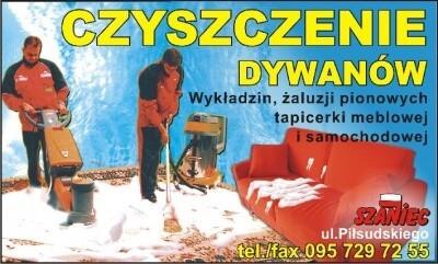 czyszczenie dywanów Gorzów